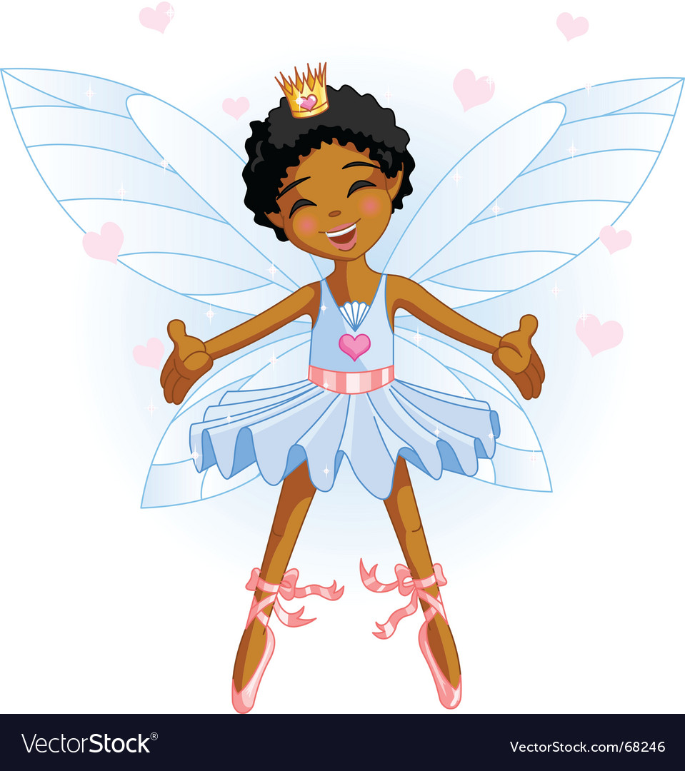 Cartoon fairy vector