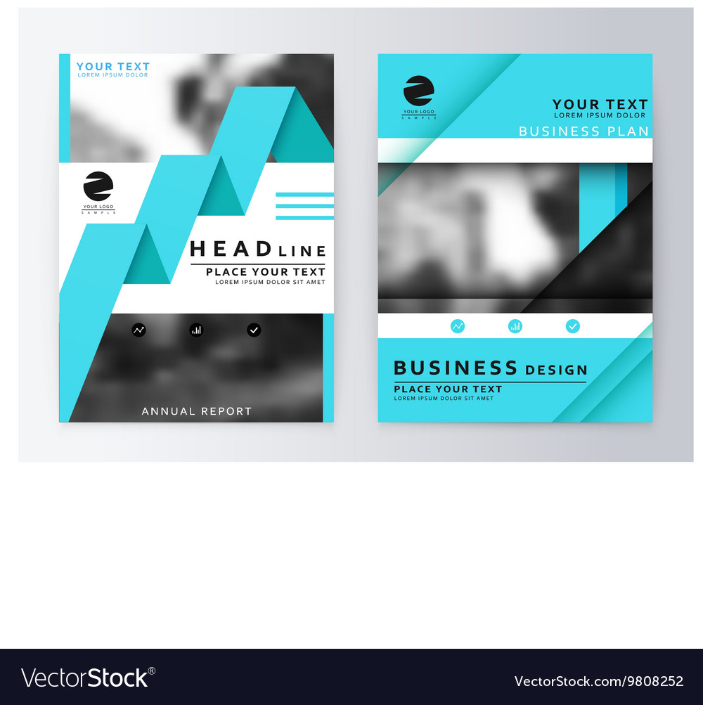 Layout design template vector