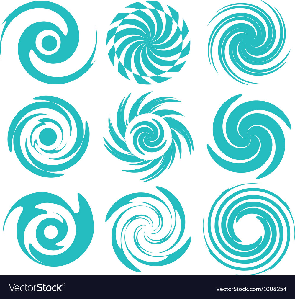 Abstract logos vector