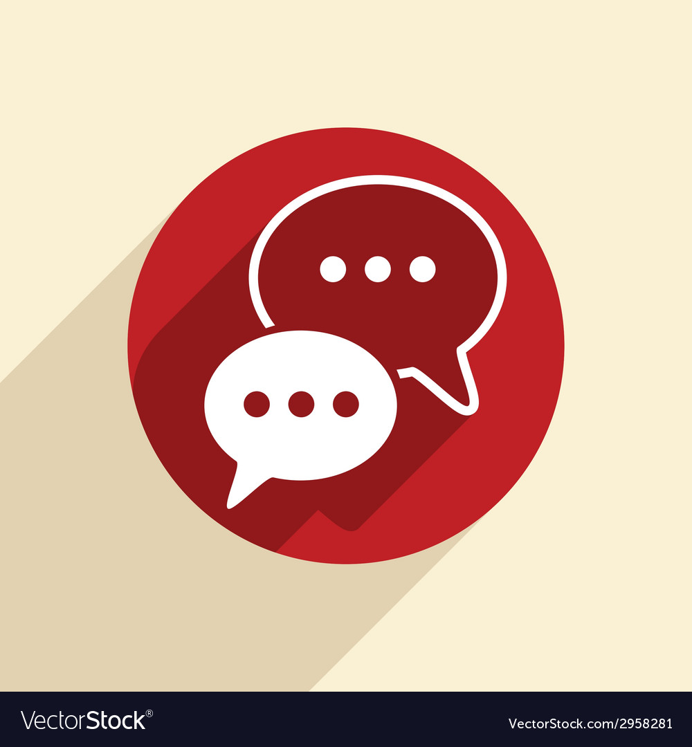 Cloud of speaking dialogue vector