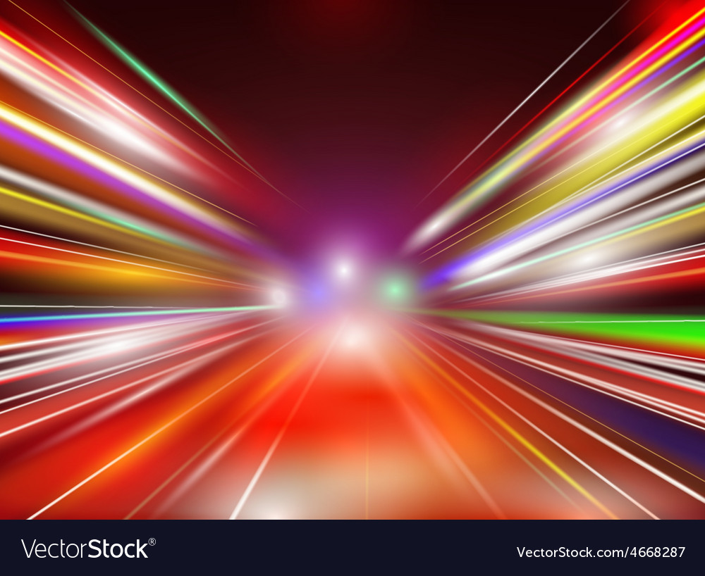 Abstract image of speed motion vector