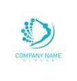 chiropractic logotype vector image