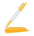 Marker pen vector image