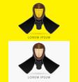 kendo helmet mask vector image