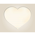romantic background vector image