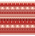 mexican style pattern vector image