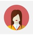 female slavic avatar vector image vector image