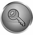 icon keys vector image