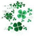 leaf clover vector image vector image