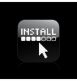 install icon vector image vector image