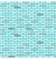 bricks wall vector image vector image