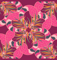 ethnic mandala ornament can be used for textile vector image