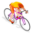 Cycling Road 2016 Sports 3D Isometric vector image