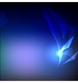 Abstract Light Wave with Blurred Background vector image
