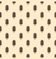 chocolate ice creamon a stick - seamless pattern vector image