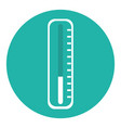 medical thermometer isolated icon vector image