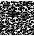 Emo seamless pattern vector image
