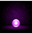 Purple Crystal Ball vector image