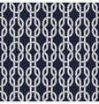 Seamless nautical rope pattern - Square knots vector image