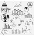 Hand drawn doodle business sketches finance vector image vector image