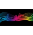 Rainbow ribbon vector image vector image