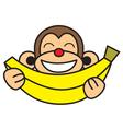 Banana Monkey vector image