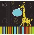 Giraffe2 vector image vector image
