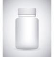 bottle drugs vector image