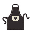 apron cooking clothes vector image