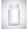 bottle drugs vector image