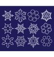 snowflake 3 vector image
