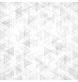 Trendy triangles backdrop vector image