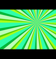 Light Ray Burst Abstract Background Green vector image