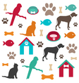 pet background vector image