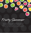 Fruity Background vector image