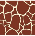 giraffe seamless pattern texture vector image vector image