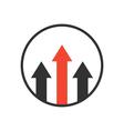 adantage icon vector image