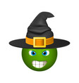 halloween smiley emoticons emoji vector image