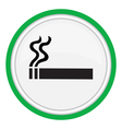 smoking area vector image