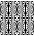 Design seamless geometric decorative pattern vector image