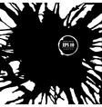 ink splashes background for design vector image