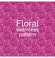 Red-violet floral seamless pattern vector image
