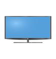 Lcd tv monitor vector image