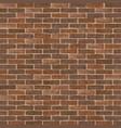 retro brick wall vector image