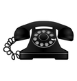 rotary telephone icon image vector image