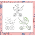 Set of diffrent prams vector image