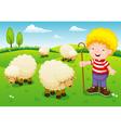 Little shepherd vector image vector image