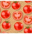 Seamless tomato vector image