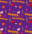 Happy Birthday Texture vector image