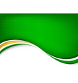 Green abstract clean background vector image